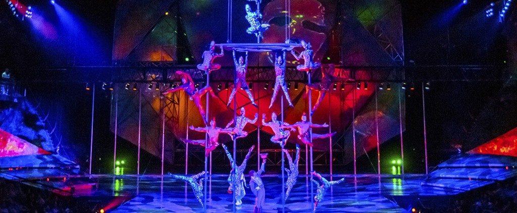 цирк, рole dance, акробатика на пилоне